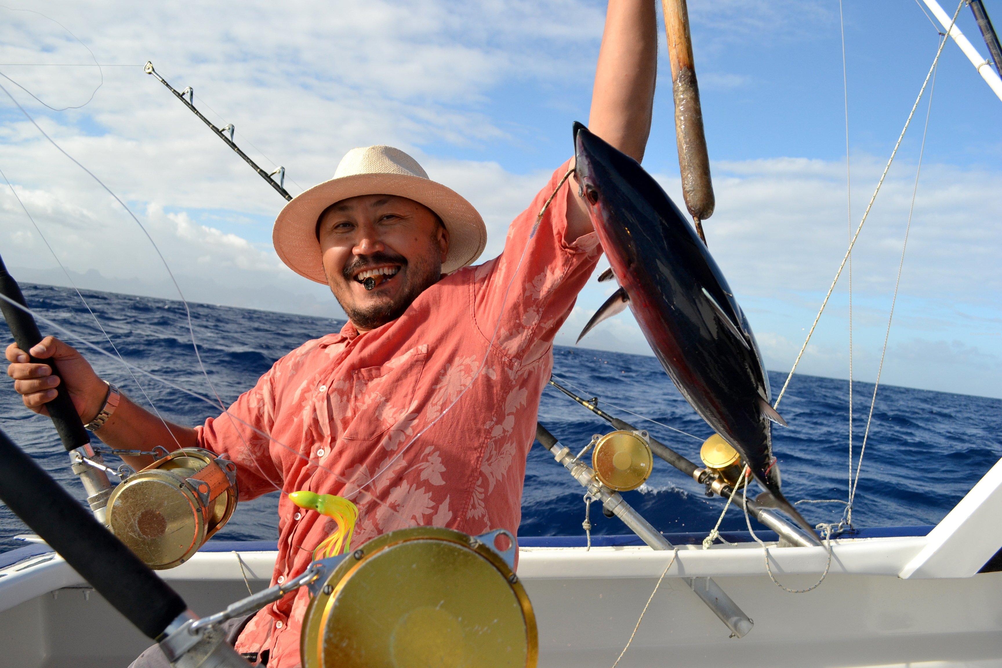 Big game fishing ebrahim tours for Sea fishing games